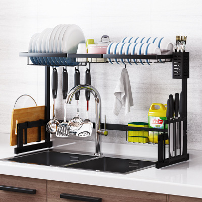 Kitchen Dish Drying Rack Plater Holder